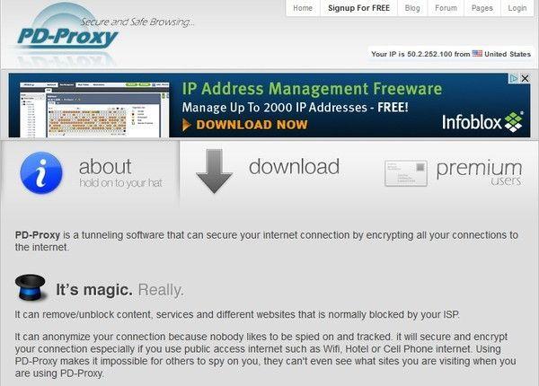 pd-proxy Le meilleur des VPN